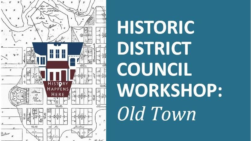 Old Town Workshop Postcard Logo